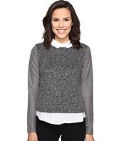 ROMEO & JULIET COUTURE - Knit Woven Shirt