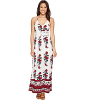 ROMEO & JULIET COUTURE - Open Back Floral Print Maxi Dress