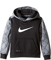 Nike Kids - Swoosh Therma Pullover Hoodie (Toddler)