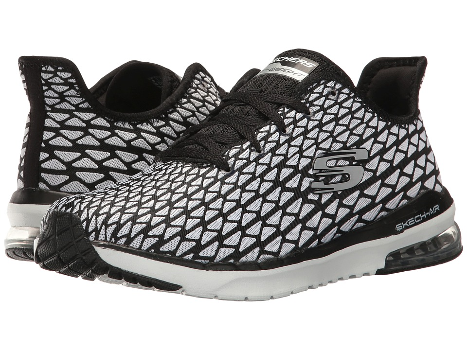 SKECHERS - Skech-Air Infinity-Transform (White/Black) Womens Shoes