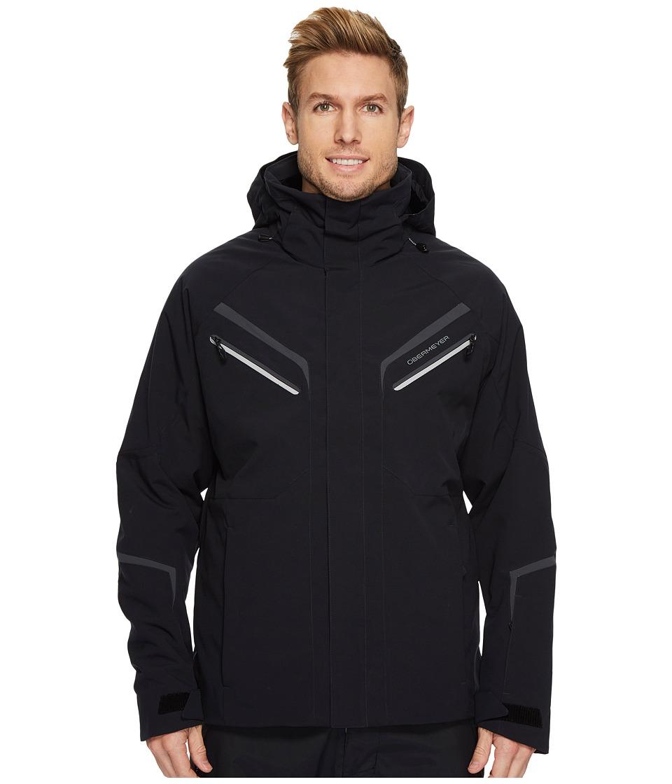 Obermeyer Trilogy Prime Jacket (Black) Men's Coat