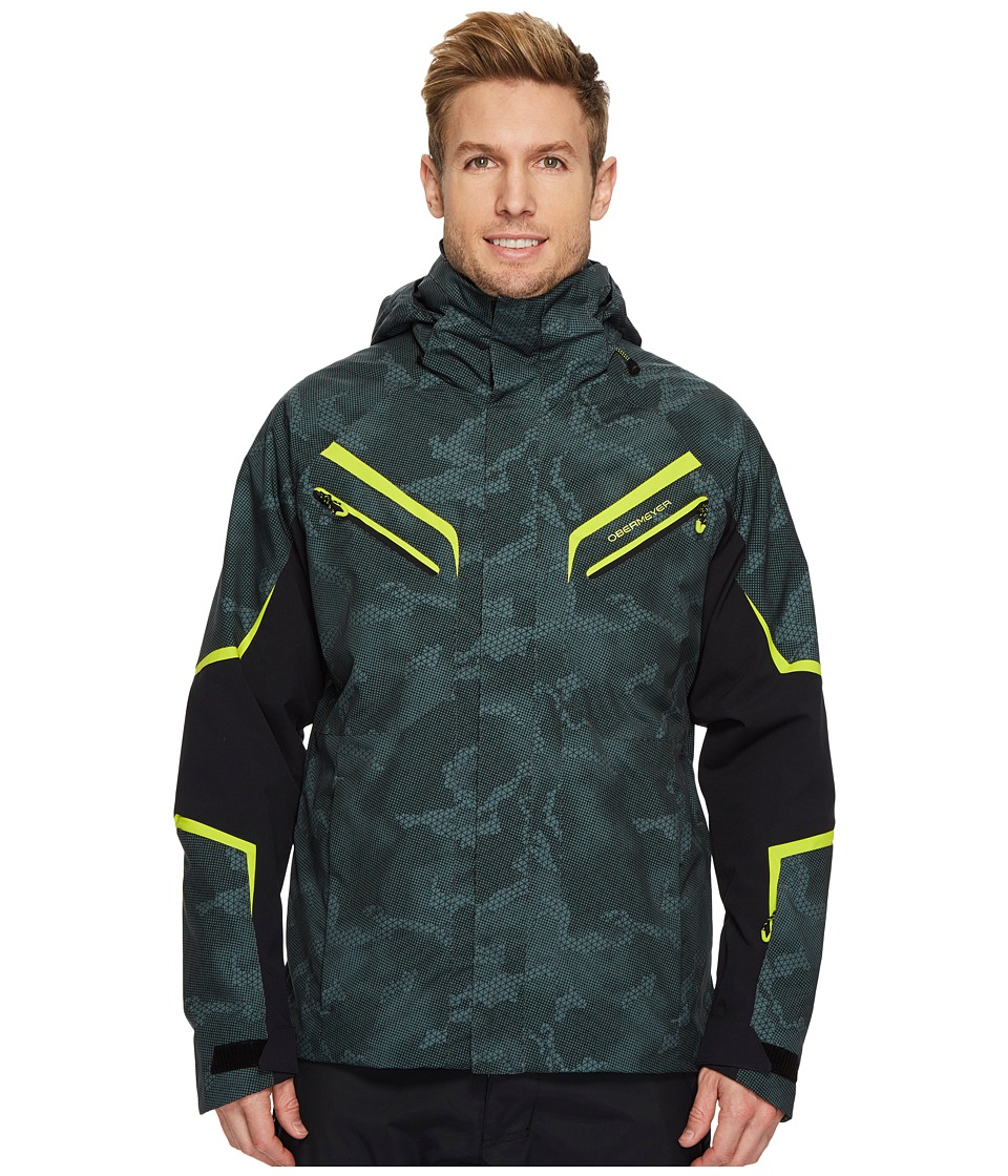 Obermeyer Trilogy Prime Jacket (Bit Camo) Men's Coat