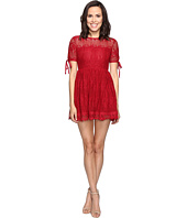 ROMEO & JULIET COUTURE - Short Sleeve Lace Woven Dress
