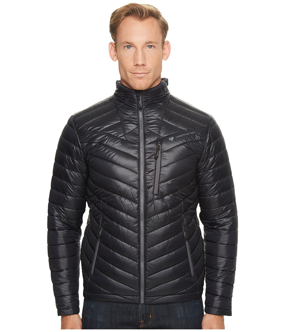Obermeyer Hyper Insulator Jacket (Black) Men's Coat