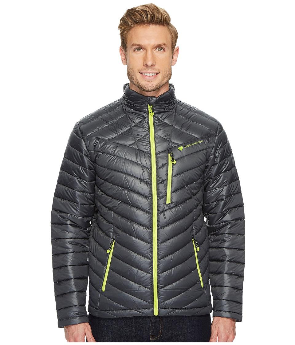 Obermeyer Hyper Insulator Jacket (Ebony) Men's Coat
