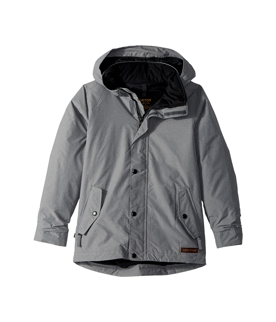 Burton Kids - Dubloon Jacket (Little Kids/Big Kids) (Shade Heather) Boys Coat