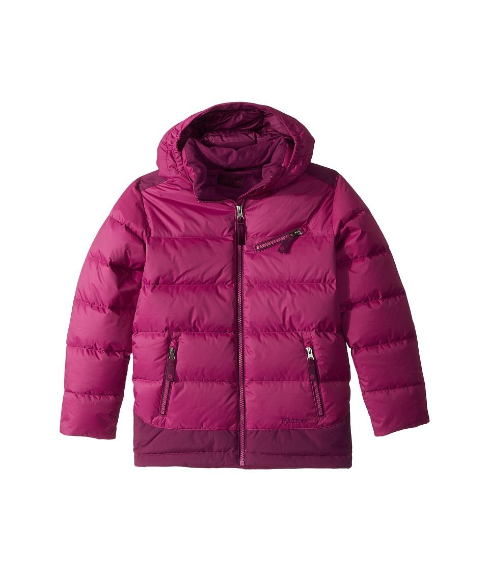 Marmot Kids Sling Shot Jacket (Little Kids/Big Kids) (Purple Orchid/Deep Plum) Girl