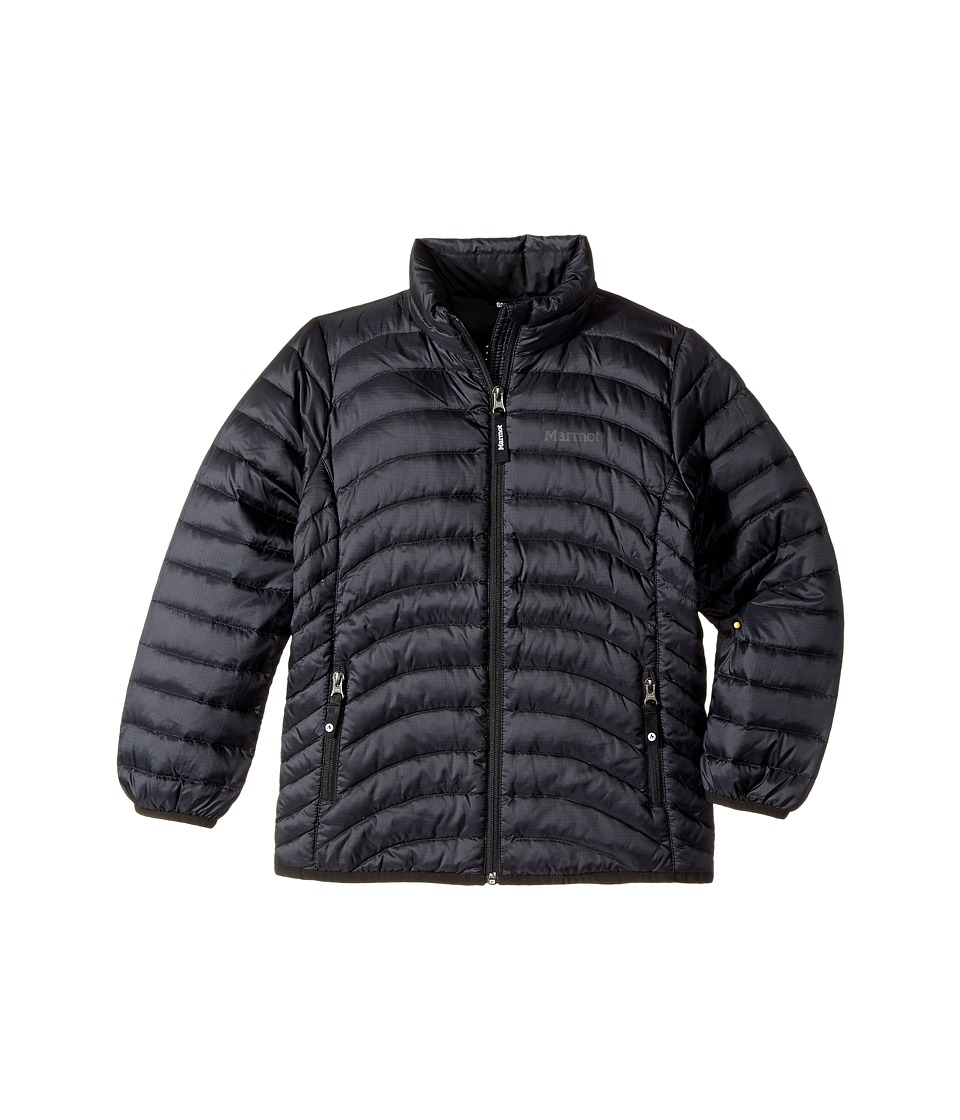 Marmot Kids - Aruna Jacket (Little Kids/Big Kids) (Black)...