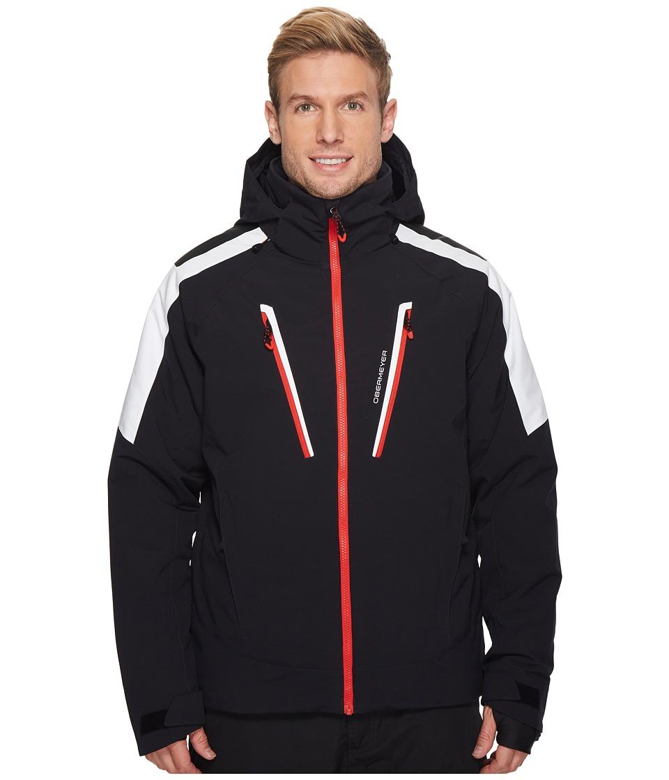 Obermeyer Foundation Jacket (White) Men's Coat