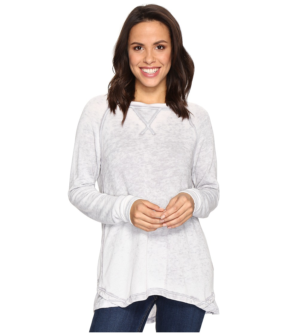 Allen Allen - Double Layer Open Back Crew with Lace
