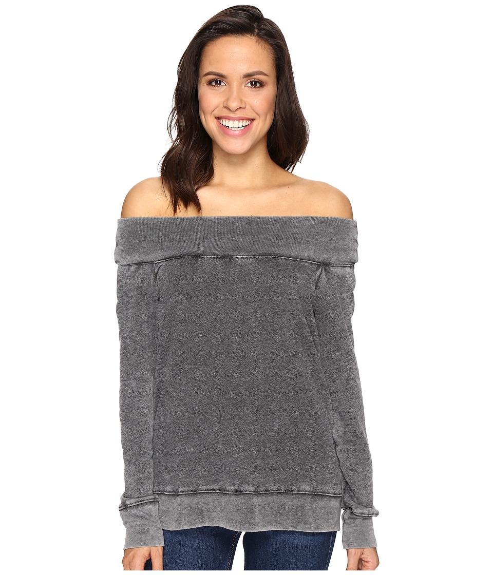 Allen Allen - Off the Shoulder Sweatshirt