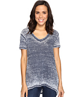 Allen Allen - Short Sleeve High-Low Tee