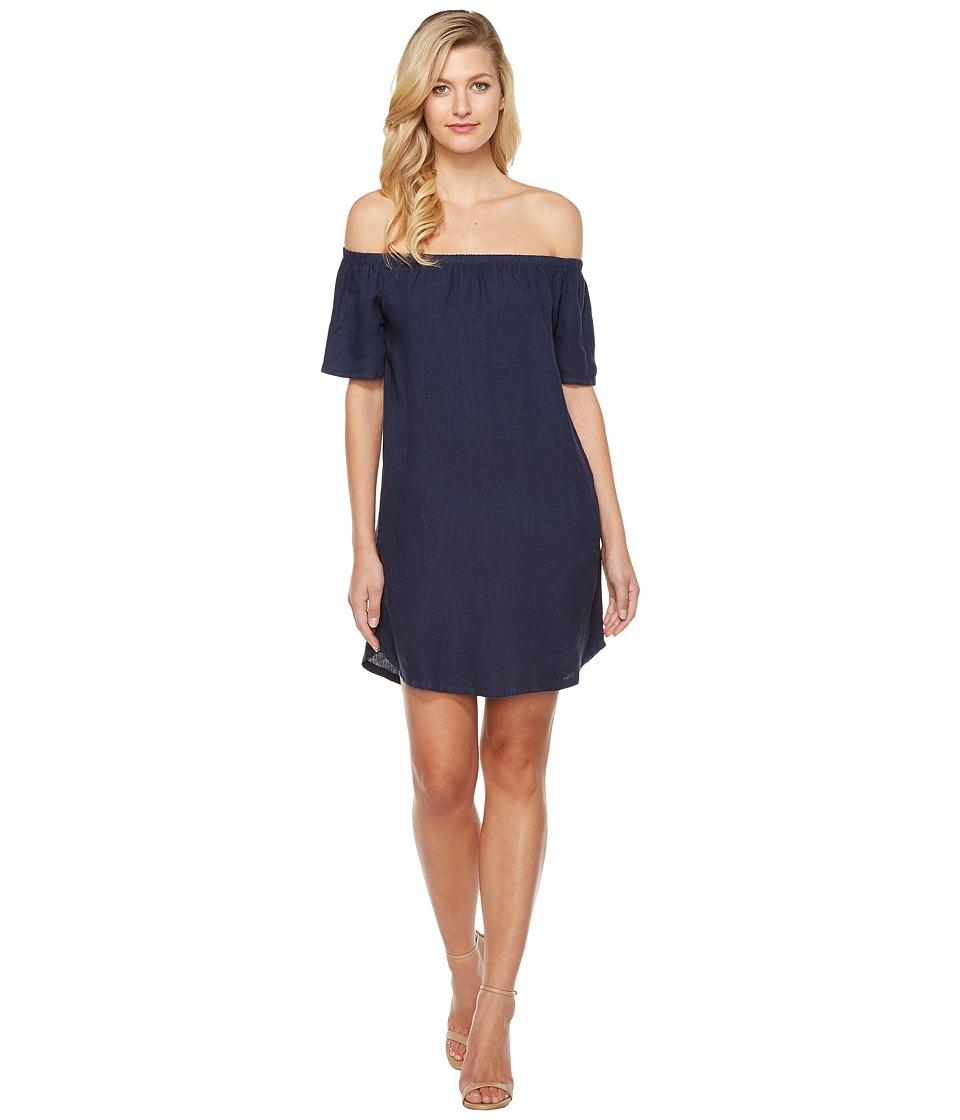 Allen Allen - Two-Pocket Off the Shoulder Dress