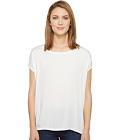 Allen Allen - Short Sleeve Square Top