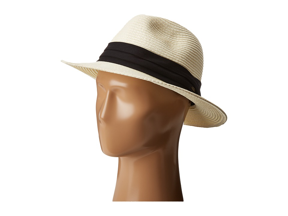 SCALA - Braid Safari with Black Band (Ivory) Safari Hats