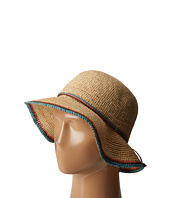 SCALA - Crochet Raffia Bucket with Contrasting