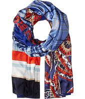 BCBGMAXAZRIA - Patchwork Wrap