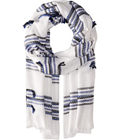BCBGMAXAZRIA - Relaxed Stripe Wrap