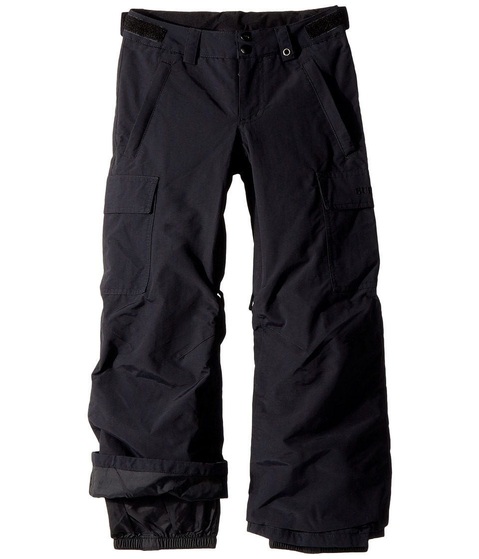 Burton Kids - Exile Cargo Pant (Little Kids/Big Kids) (True Black 2) Boys Casual Pants