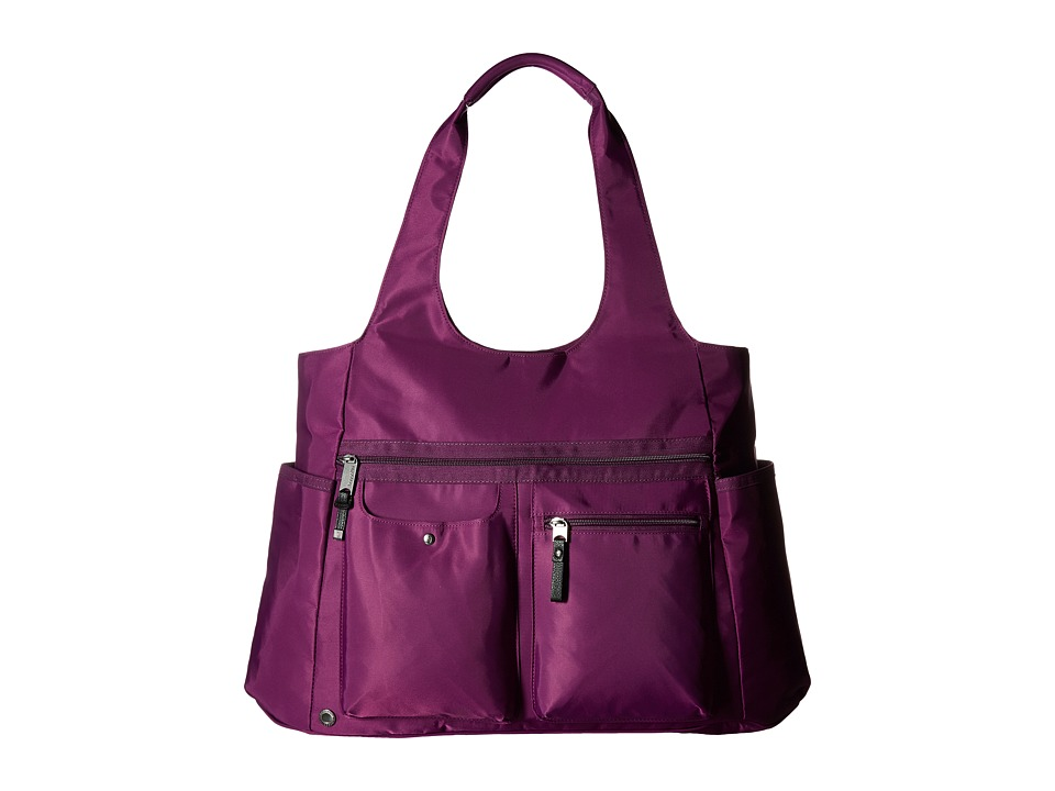 Baggallini Get Along Large Tote (Mulberry) Tote Handbags