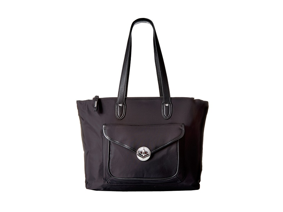Baggallini Fairfax Laptop Tote (Black) Tote Handbags