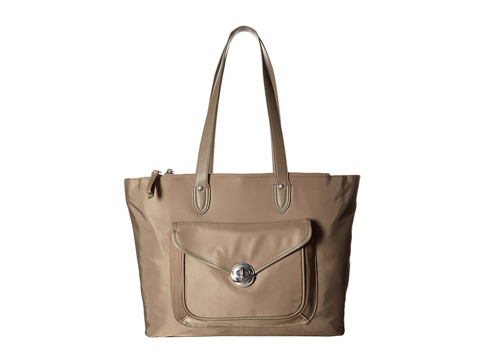 Baggallini Fairfax Laptop Tote (Walnut) Tote Handbags