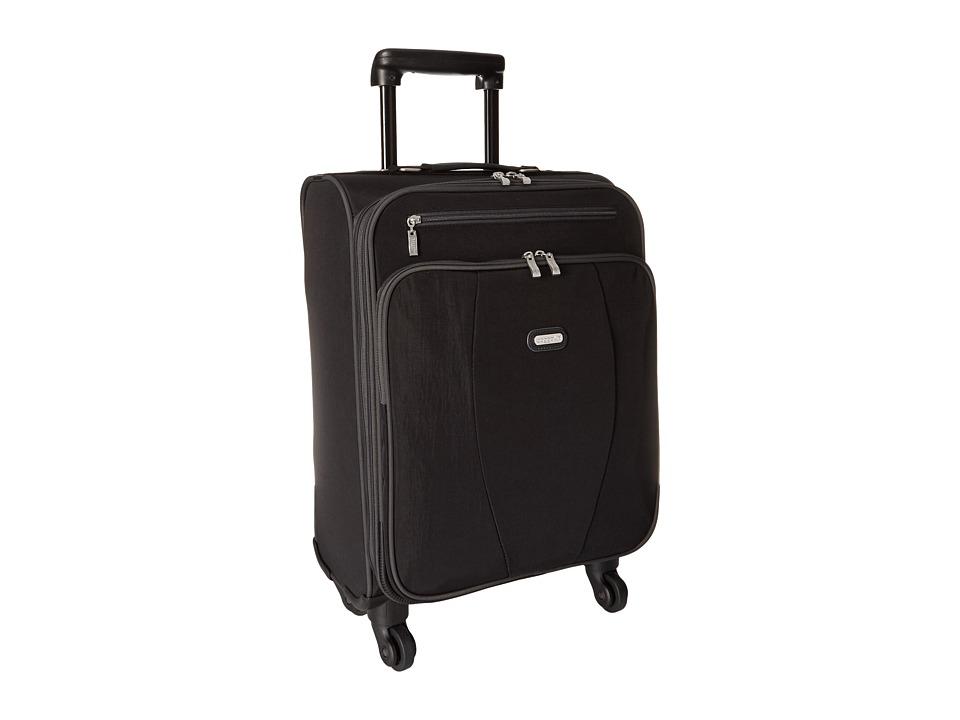 Baggallini Getaway Roller (Black/Charcoal) Pullman Luggage