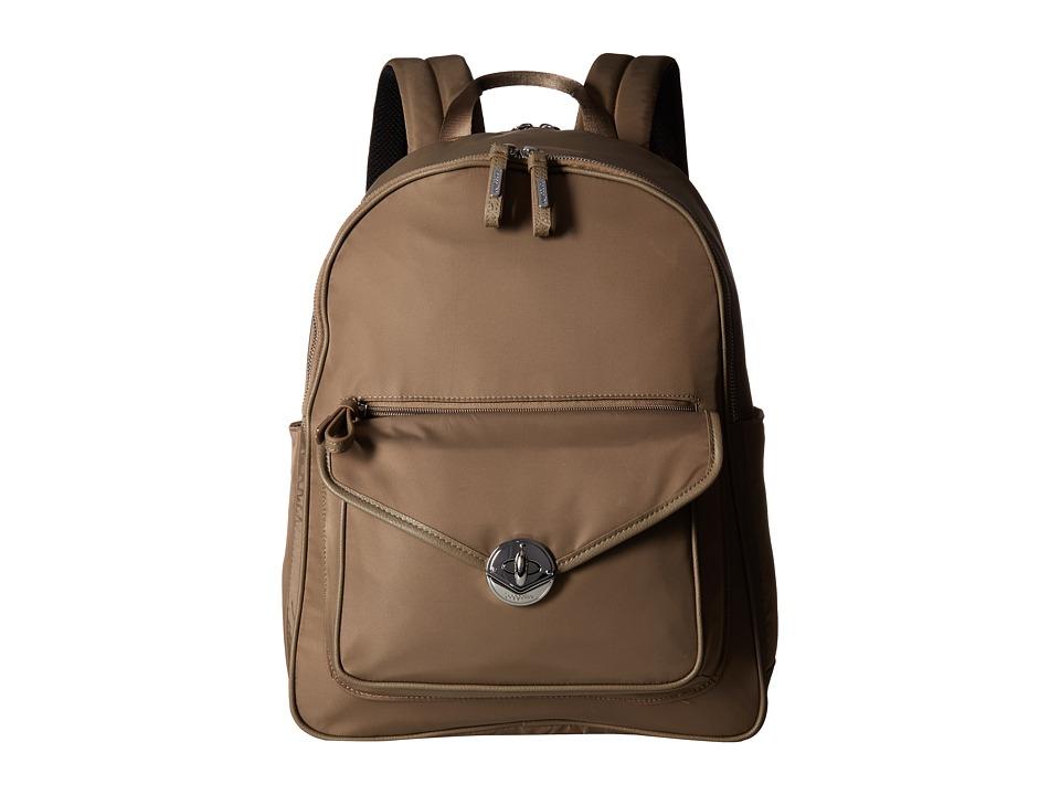 Baggallini Granada Laptop Backpack (Walnut) Backpack Bags