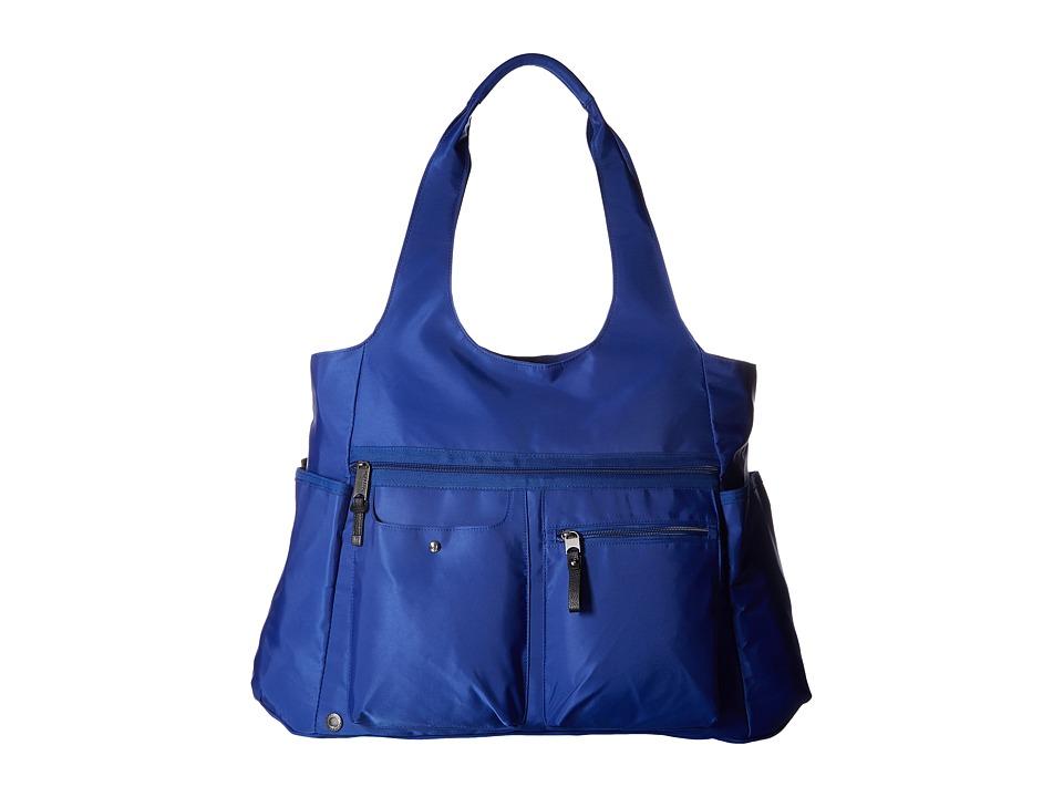 Baggallini Get Along Large Tote (Cobalt) Tote Handbags