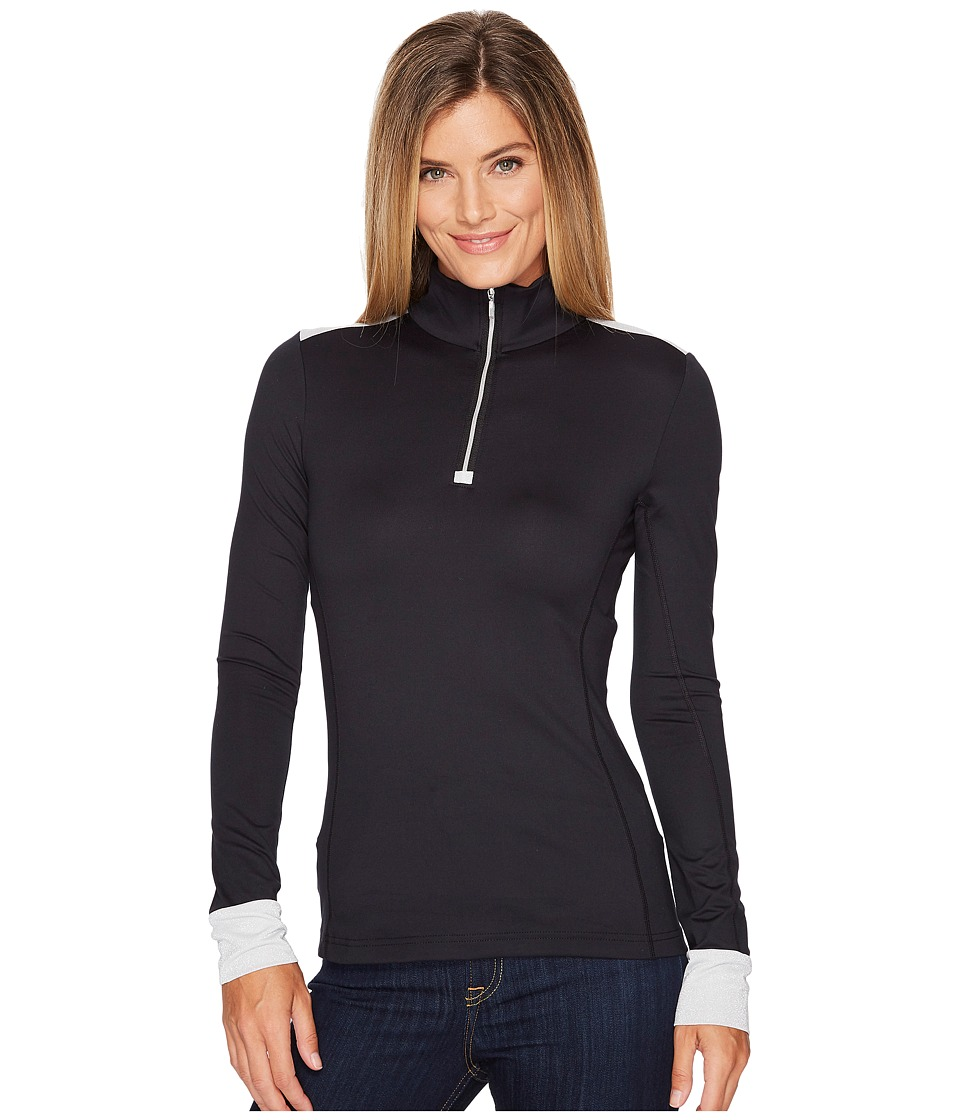 Obermeyer - Nari 1/4 Zip Top (Black) Womens Clothing