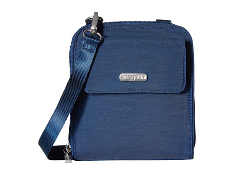 Baggallini Travel Passport Crossbody - Pacific