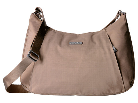 Baggallini Slim Crossbody Hobo - Beach