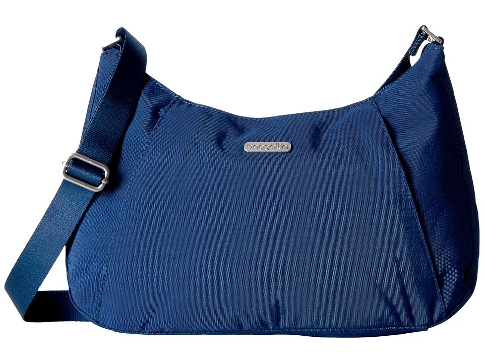 Baggallini Slim Crossbody Hobo (Pacific) Hobo Handbags