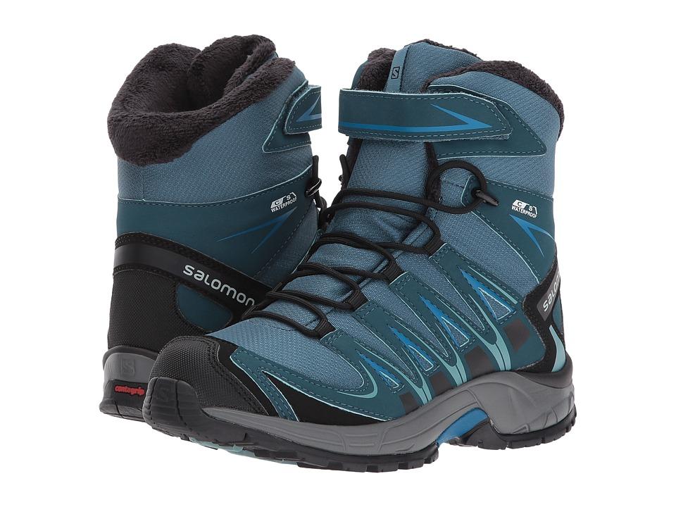 Salomon Kids XA Pro 3D Winter TS CSWP (Little Kid/Big Kid) (Mallard Blue/Reflecting Pond/Mykonos Blue) Boys Shoes
