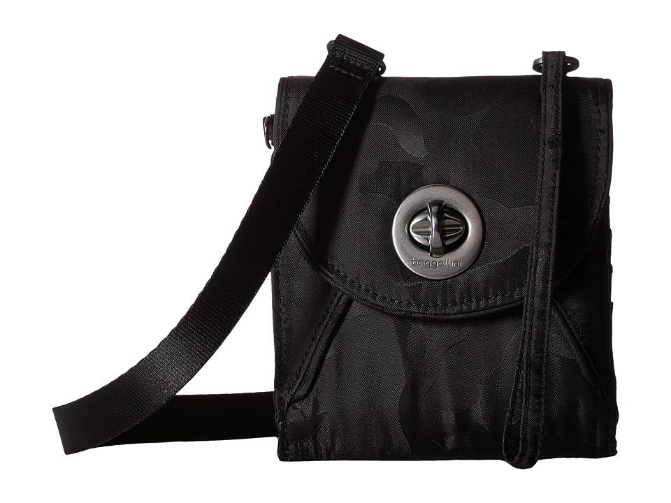 Baggallini Athens RFID Crossbody Wallet (Camo) Wallet Handbags