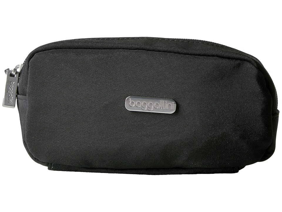 Baggallini Square Cosmetic Case (Black/Charcoal) Cosmetic Case