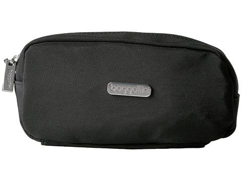 Baggallini Square Cosmetic Case - Black/Charcoal
