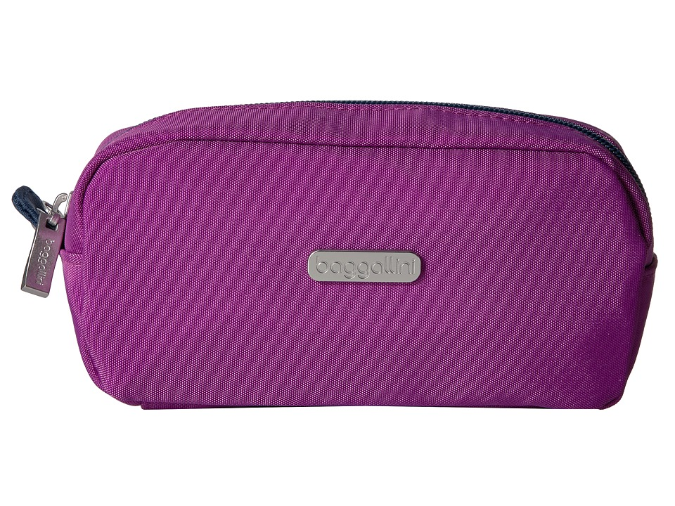 Baggallini Square Cosmetic Case (Magenta/Pacific) Cosmetic Case