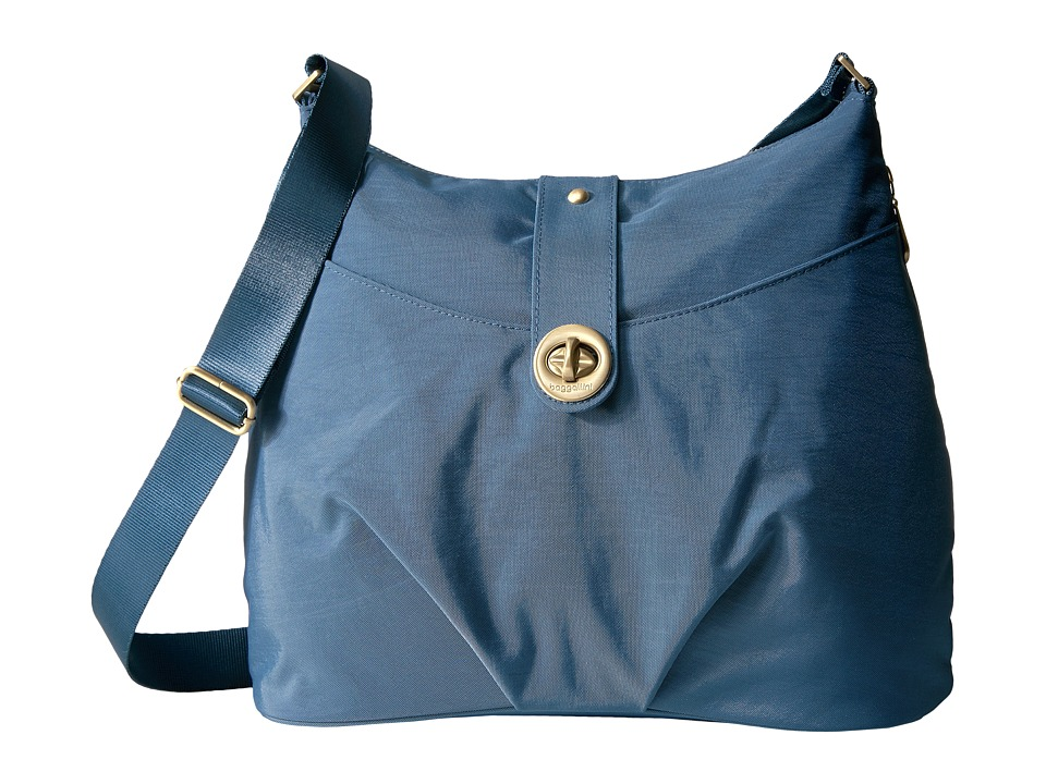Baggallini Helsinki Bagg (Slate Blue) Cross Body Handbags