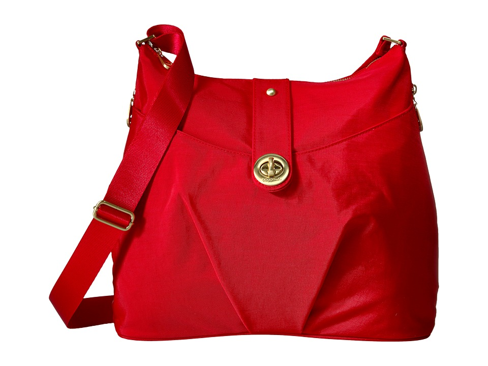 Baggallini Helsinki Bagg (Poppy Red) Cross Body Handbags