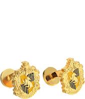Cufflinks Inc. - Hufflepuff Crest Cufflinks