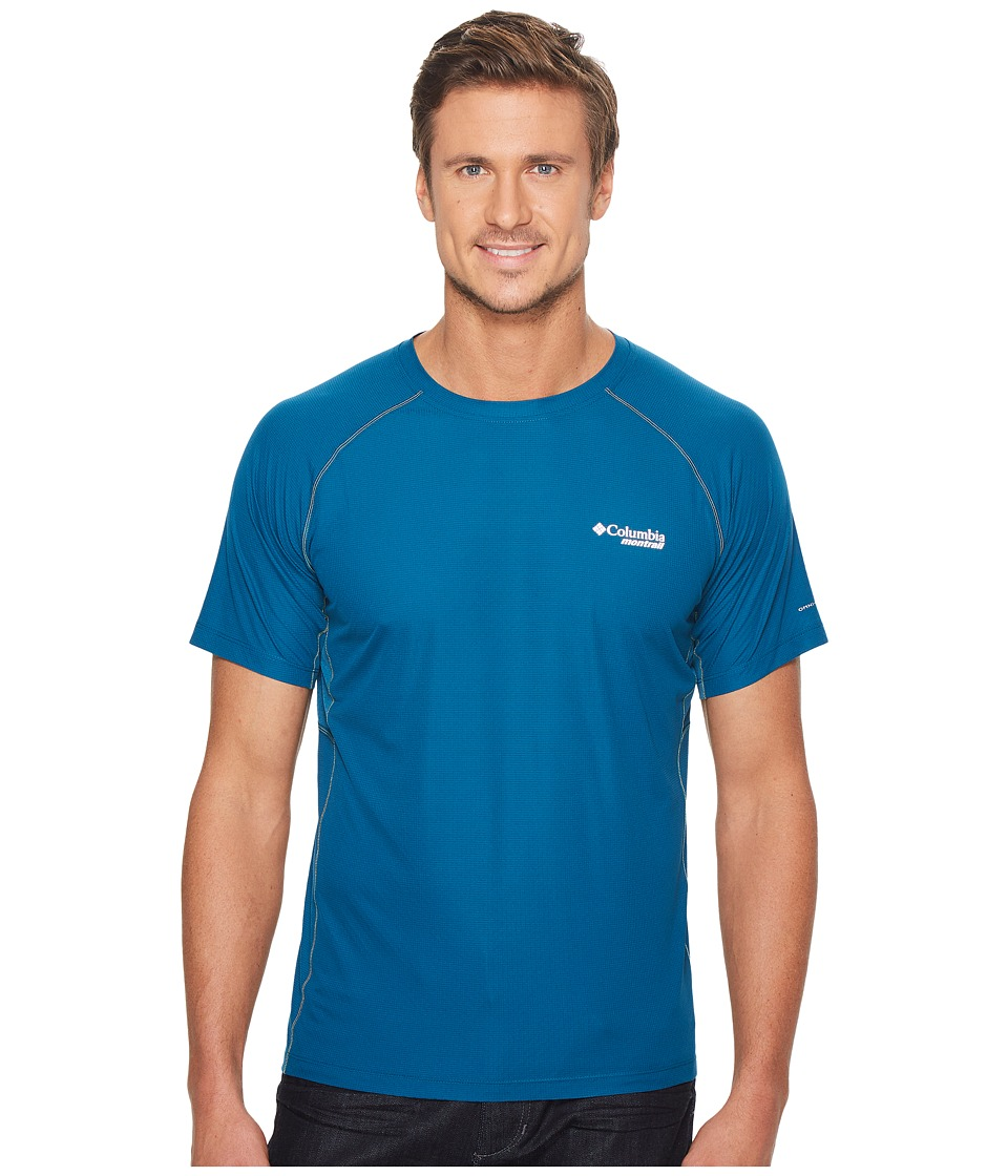 Columbia - Titan Ultra Short Sleeve Shirt (Phoenix Blue) Mens Short Sleeve Pullover