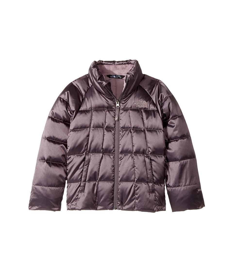 The North Face Kids Aconcagua Down Jacket (Little Kids/Big Kids) (Rabbit Grey) Girl