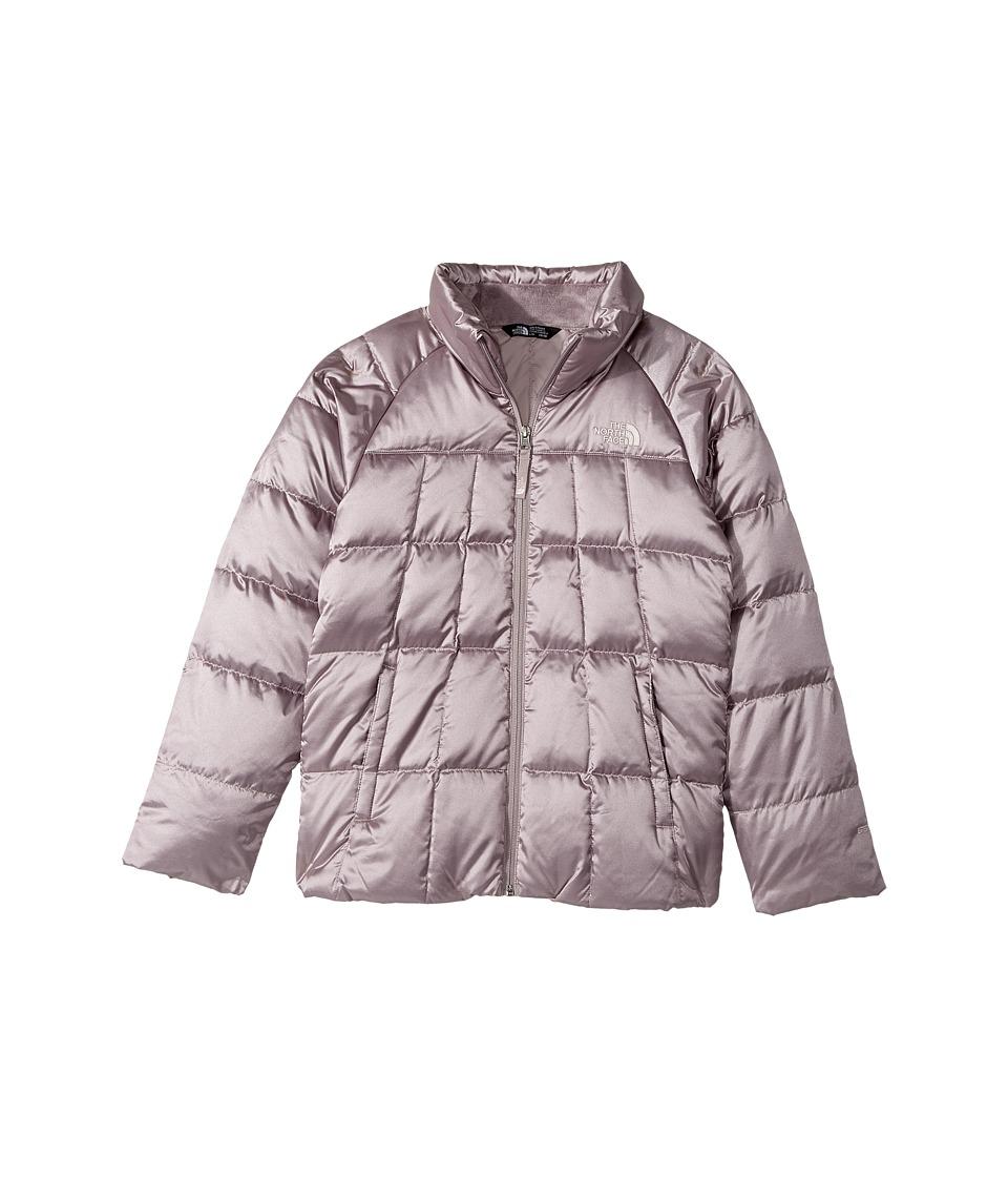The North Face Kids Aconcagua Down Jacket (Little Kids/Big Kids) (Quail Grey) Girl