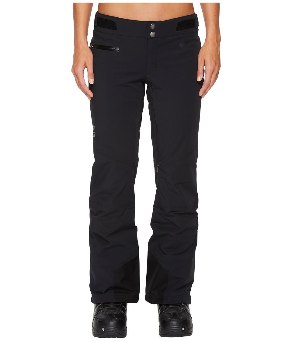 Obermeyer Straight Line Pants (Black) Women's Casual Pants