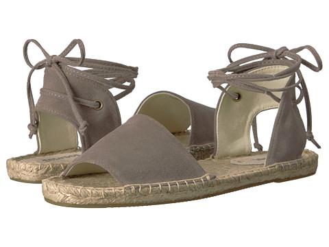 Soludos Balearic Tie-Up Sandal - Dove Gray