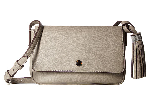 Elizabeth and James Finley Flap Crossbody - Dove Grey (Prior Season)
