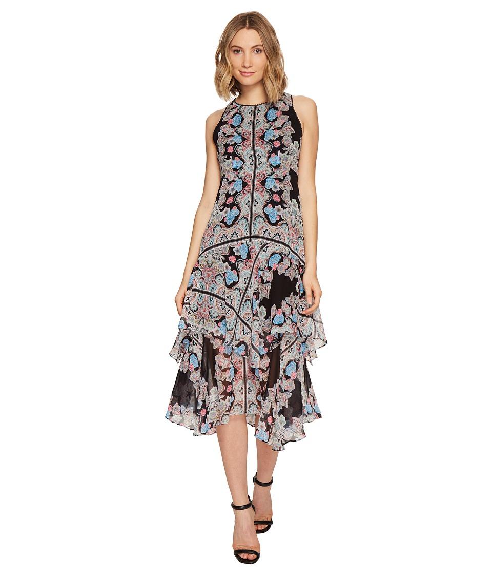 Nanette Lepore Wild Heart Dress (Black Multi) Women