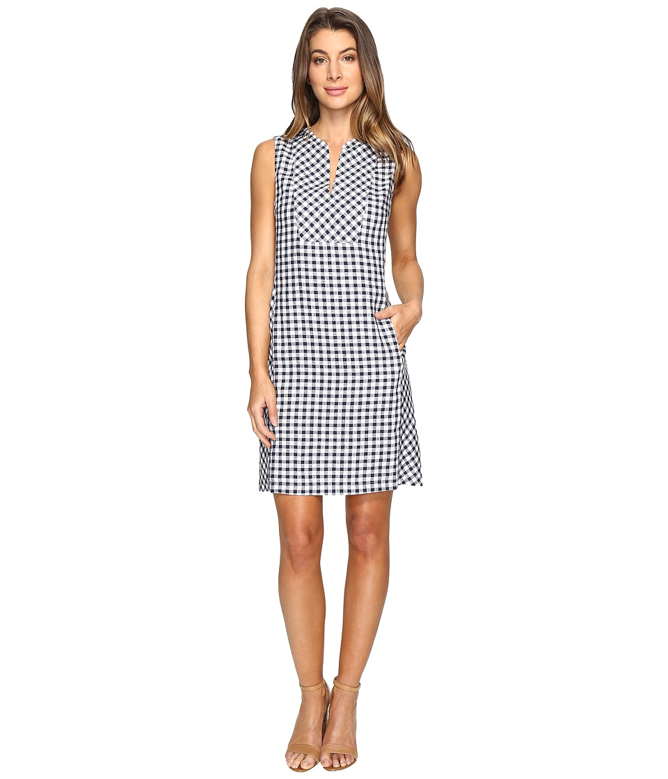 Tommy Bahama Gingham the Great Short Dress (Ocean Deep) Women