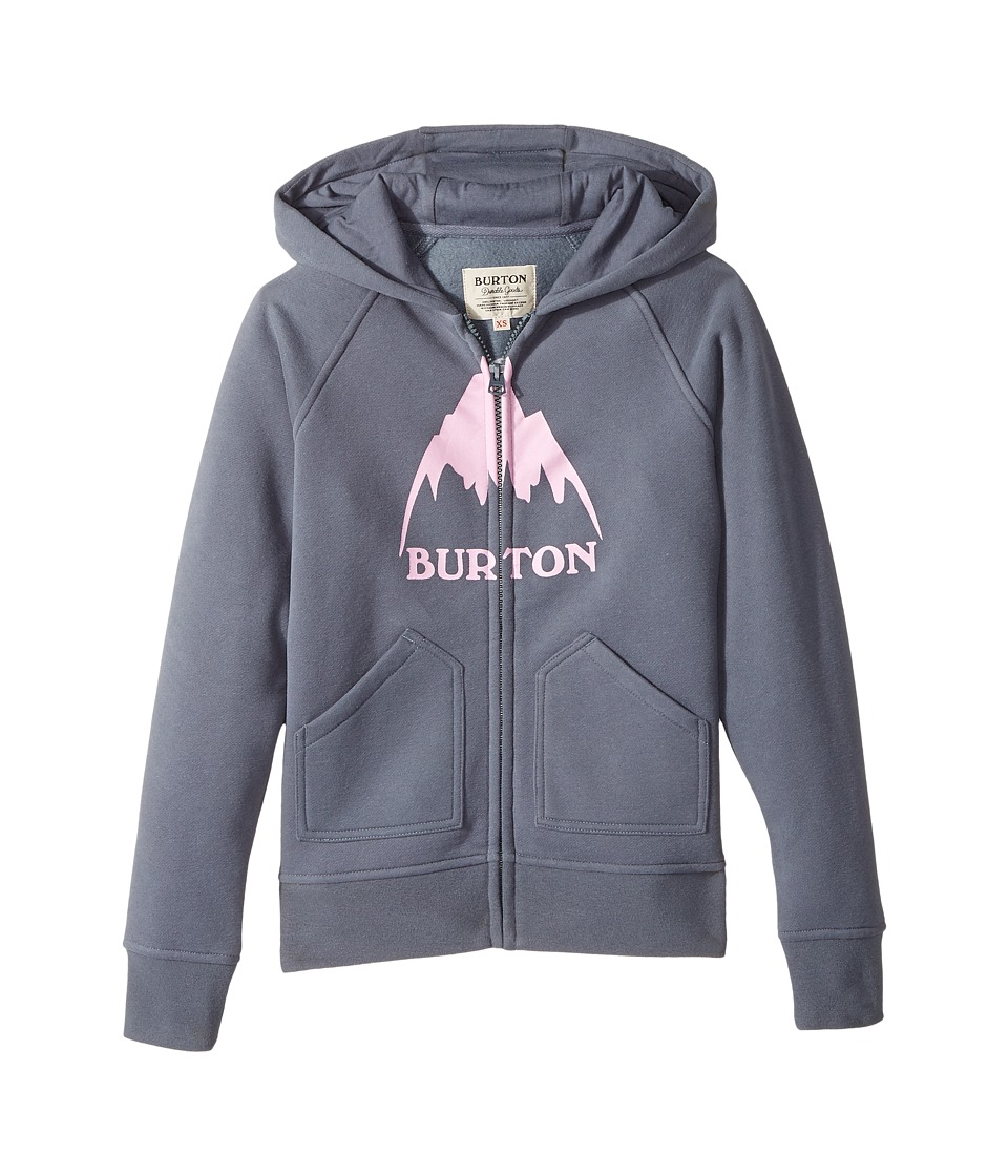 Burton Kids - Stamped Mountain Full Zip Hoodie